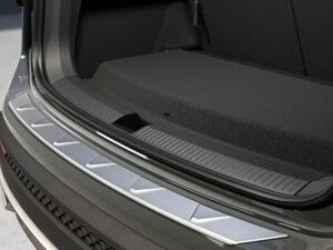 Genuine SEAT Tarraco Stainless Steel Rear Bumper Protector 2019 Onwards