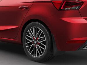 Genuine SEAT Rear Ibiza Mudflaps 6F0075101