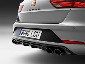 Genuine SEAT Leon Carbon Fibre Rear Diffuser 5f4071611