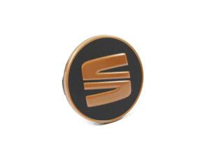 5F0601171TVK SEAT Black & Copper /Gold Centre Cap