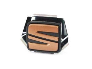 GENUINE SEAT LEON CUPRA COPPER/GOLD REAR TAILGATE S BADGE 2013-2020 5F0827565DRZH